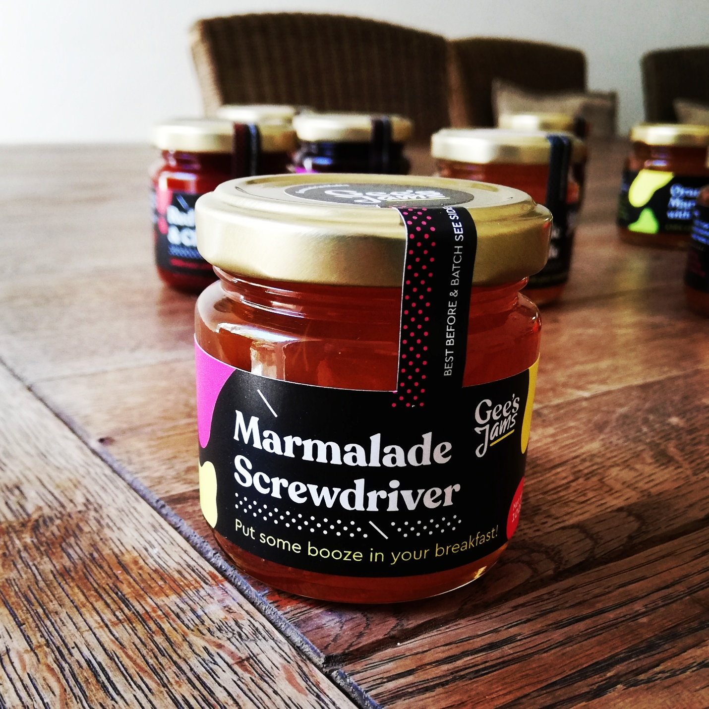 Homemade Marmalade Screwdriver - G's